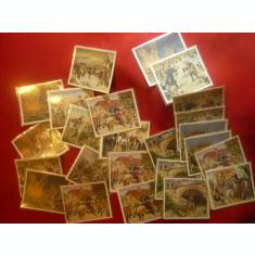 Colectie 25 cartonase - Premii la Tigarile Eckstein  Germania - Viata lui Freder