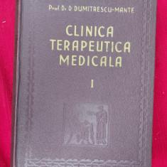 CLINICA TERAPEUTICA MEDICALA DUMITRESCU MANTE , VOL 1 .