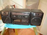 Radiocasetofon PANASONIC RX-CS710 cu boxe detasabile 2 cai, stare FOARTE BUNA