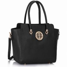 L&S Fashion LS00149 geantă pe umăr neagra