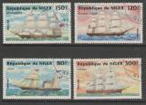 Niger 1984 Sailing ships used T.389, Stampilat