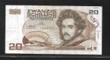 Austria  20 Schilling 1986- P148-aUNC