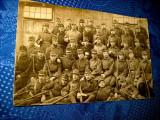 1284-ww1- Grup de militari Foto veche primul razboi. Marimi: 9/13.5 cm.