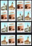 Romania 2004, LP 1652 a, Zeppelin Brasov, cele 8 variante!!!, MNH! LP 360,00 lei