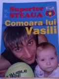 """Revista fotbal - """"Suporter STEAUA"""" (Nr.12/2005)- poster Vasili HAMUTOVSKI"""