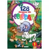 Carte de colorat Girasol - 128 Desene de colorat 1