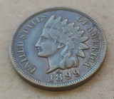 1 CENT 1899 MONEDA S.U.A, America de Nord