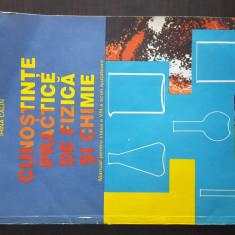 Cunostinte practice de fizica si chimie, manual pt cls a VIII-a scoli ajutatoare