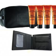 Travel Trusa Cosmetice Scottish Finest Portofel piele naturala personalizabil