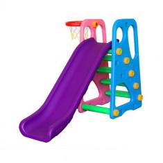 Centru de Joaca 2 in 1 Happy Slide Multicolor