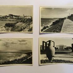 Lot 4 fotografii mici (anii 50) Techirghiol, Eforie, Vasile Roaita (Eforie Sud)