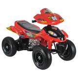 ATV electric cu roti gonflabile Supreme Red