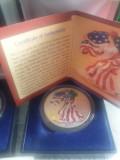 American Eagle Silver Dollar 2000 1999, America de Nord, Argint