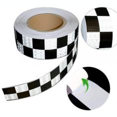Banda reflectorizanta tip fagure TAXI 6cm x 25m AL-220219-3