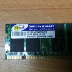 Ram Laptop AData 1 GB DDR2 667MHz M20AD5G3I4436IC52
