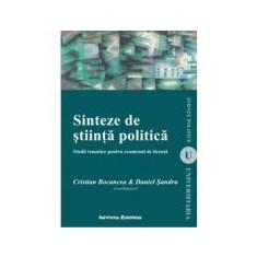 Sinteze de stiinta politica - Cristian Bocancea, Daniel Sandru