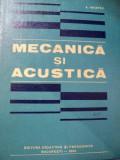 MECANICA SI ACUSTICA-A.HRISTEV,BUC.1982
