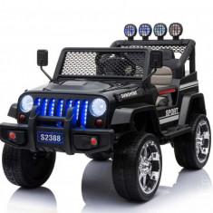 Masinuta electrica Jeep Sunshine 4x45W PREMIUM Negru