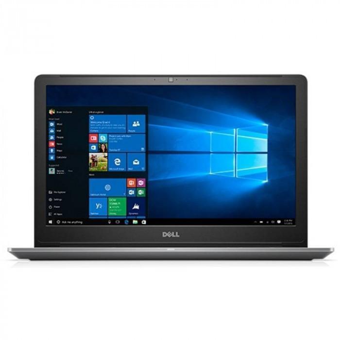 Laptop Dell Vostro 5568 15.6 inch FHD Intel Core i5-7200U 8GB DDR4 256GB SSD nVidia GeForce 940MX 2GB Backlit KB FPR Windows 10 Pro Gray 3Yr CIS