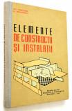 Elemente de constructii si instalatii - Gh. Sprinceana - 1961