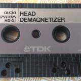Caseta demagnetizare capete cass/deck TDK HD-01