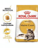 ROYAL CANIN Hrana uscata pentru pisici adulte rasa Maine Coon 10 kg + hrana umeda Mainecoon 12x85 g