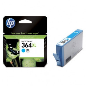 Cartus original HP 364XL Cyan CB323EE 6ml foto