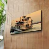 Tablou decorativ pe panza Horizon, 237HRZ1205, Multicolor