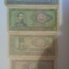 100 lei,50 lei,25 lei,10 lei 1966