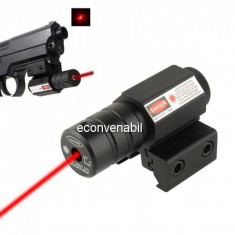 Laser Pointer Rosu cu Fixare pe Arma sau Pistol AT Laser Sight