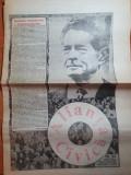 Ziarul alianta civica 30 aprilie-6 mai 1992-vizita dupa 45 ani a regelui mihai