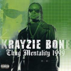 2 CD  Krayzie Bone-Thug Mentality 1999,original, muzica hip-hop