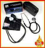 Cumpara ieftin Tensiometru Stetoscop Aneroid Geanta Depozitare