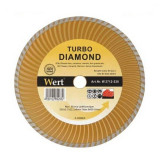 Cumpara ieftin Disc diamantat turbo, taiere beton, ceramica, caramida Wert O230x22.2 mm