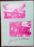 GEORGE ENESCU SI LOCURILE NATALE/BOTOSANI 1970/TEXT 16 p. VICTOR CRACIUN+56 FOTO