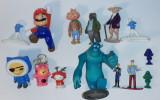 Personaje indragite : Hello Kitty, Winnie the Pooh, strumfi, Mario etc.