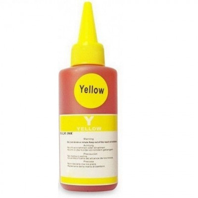 1 l Cerneala compatibila Ink-mate Dye yellow BT5000 foto