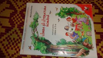 limba si literatura romana manual pentru clasa  2-a 112pag/an2006- marcela penes foto