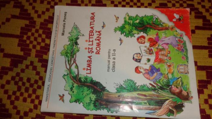 limba si literatura romana manual pentru clasa  2-a 112pag/an2006- marcela penes