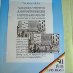 """3 Cartele Telefonice """"50 Jahre Deutschland"""" - Exponate NOI / 3"""