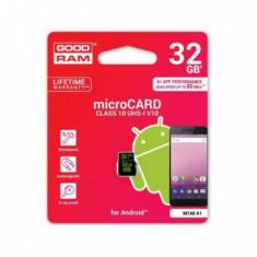 Card de Memorie MicroSD Goodram M1A0 A1, 32Gb Clasa 10 Blister