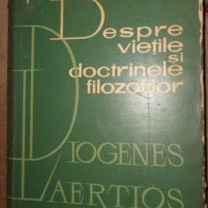 Despre vietile si doctrinele filozofilor - Diogenes Laertios