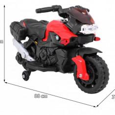 Motocicleta electrica SmartBike, cu rosu