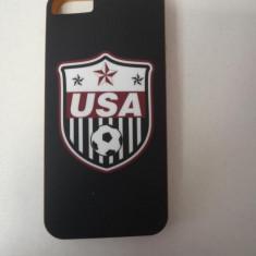Husa Telefon Silicon Apple iPhone 5s iPhone 5 iPhone SE Black USA Football