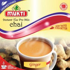 MUKTI Instant Tea Ginger Unsweetened (Ceai Gimbir Instant Neindulcit - 10...
