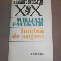 LUMINA DE AUGUST WILLIAM FAULKNER