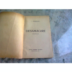 DESAMAGIRE - I. AGARBICEANU