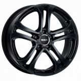 Jante MERCEDES B-KLASSE 8J x 17 Inch 5X112 et35 - Mak Stuttgart Gloss Black - pret / buc, 8, 5