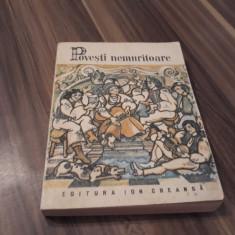 POVESTI NEMURITOARE VOL 29 EDITURA ION CREANGA 1989