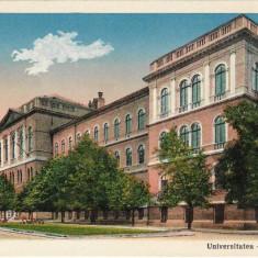 Carte poștală – Cluj. Universitatea.